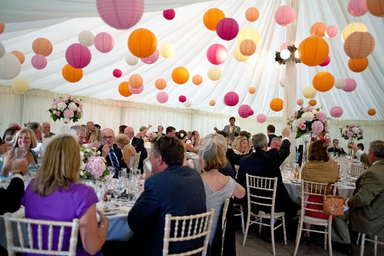 Wedding inspiration decorate with poms the wedding dolls if you are decorating your own marquee barn or similar type venue take a look at the rest of our board in pinterest for more inspiration but for now here junglespirit