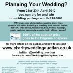 Win a Wedding: The Charity Wedding Auction