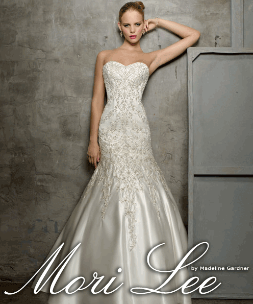 Fish Tale Wedding Dress