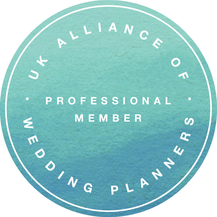 k, UKAlliance of wedding planners badge